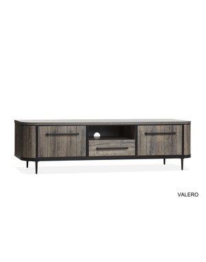 Valero tv kast groot claywood 2 deur/1 la/1 open
