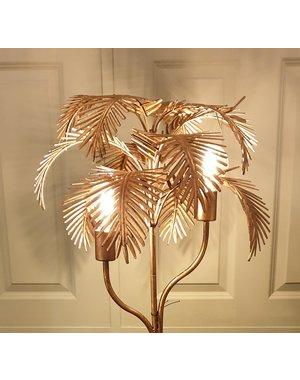 Light & Living Vloerlamp PALM Antique brons Antique brons