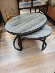 Maxfurn Set van 2 salontafels Rutger klein - Claywood