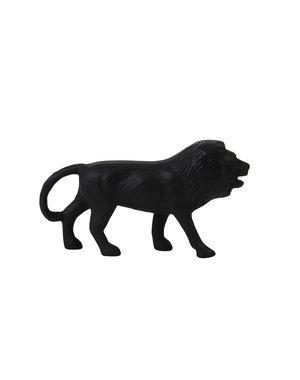 Light & Living Ornament Leeuw Zwart