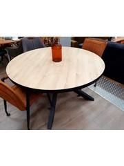 Maxfurn Eettafel rond Royaal  140 cm - Pure Wood - Showroommodel