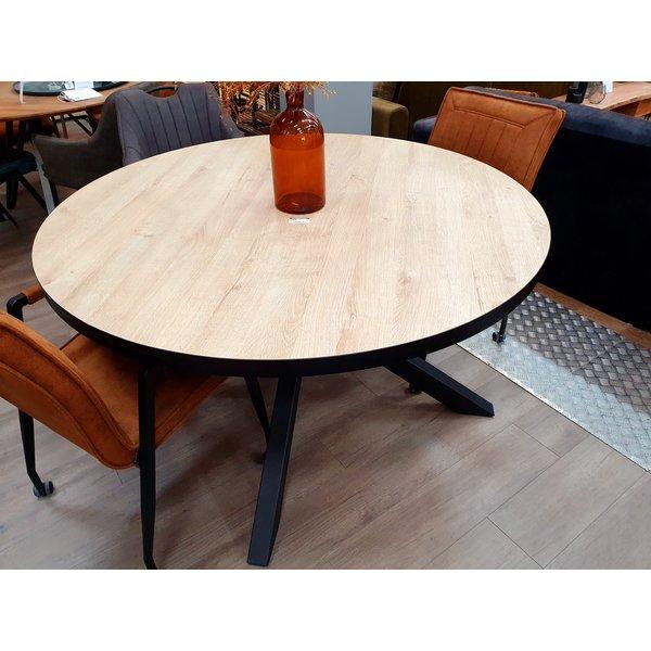 Maxfurn Eettafel rond Royaal  140 cm - Pure Wood