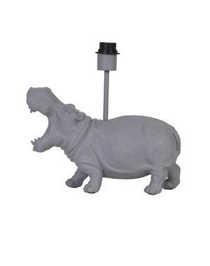 Light & Living Lampvoet 36x14x34 cm HIPPO mat grijs
