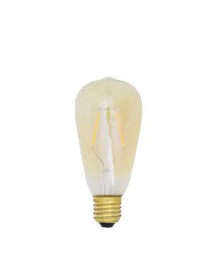 Light & Living LED hoekig Ø7x14 cm LIGHT 2W amber E27