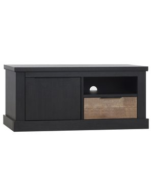 Maxfurn Jumbo tv kast klein 1dr/1la/1open Lamulux Old Piano/teak