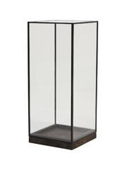Light & Living Stolp 20x20x45 cm ASKJER hout bruin+zwart+glas