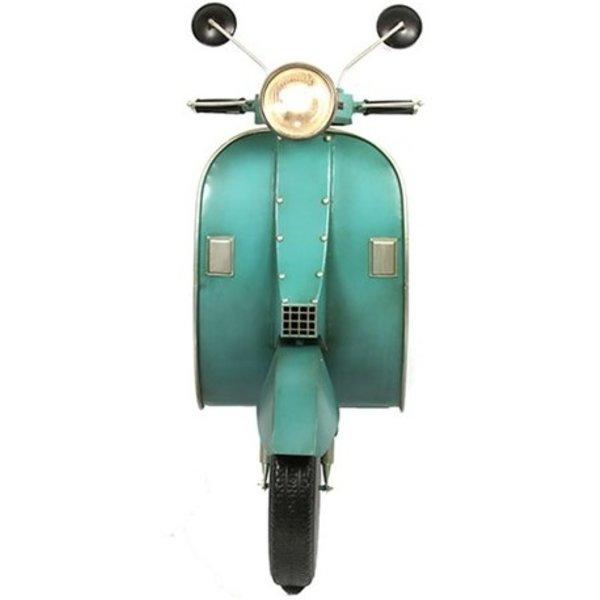 Countryfield Deco scooter met LED Vespa groen