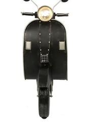 Countryfield Deco scooter met LED Vespa zwart
