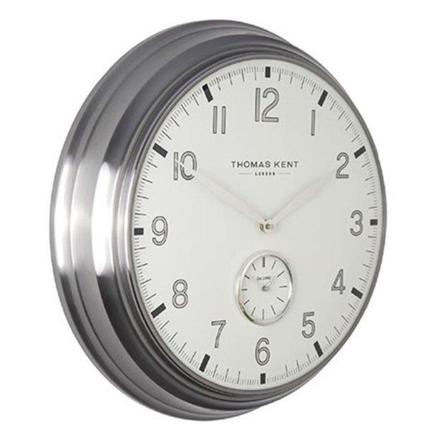 Thomas Kent Klok Timekeeper No.8 L wit/zilver
