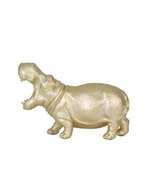 Light & Living Tafellamp 36x14x34 cm HIPPO mat goud