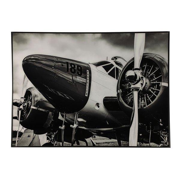 Countryfield Schilderij vliegtuig Hawker