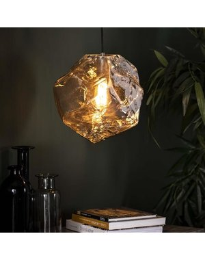Hanglamp Rock Chromed glas