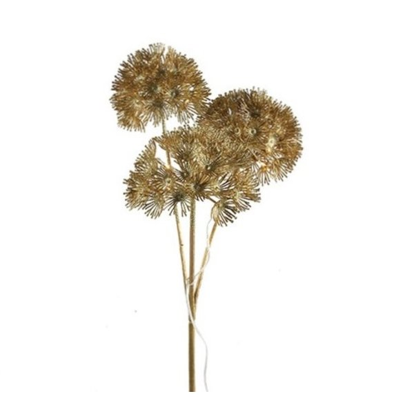 Countryfield Heracleum LED timer goud