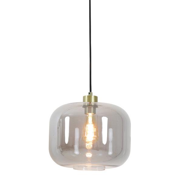 Light & Living Hanglamp Ø29,5x23 cm JESSIE smoke glas
