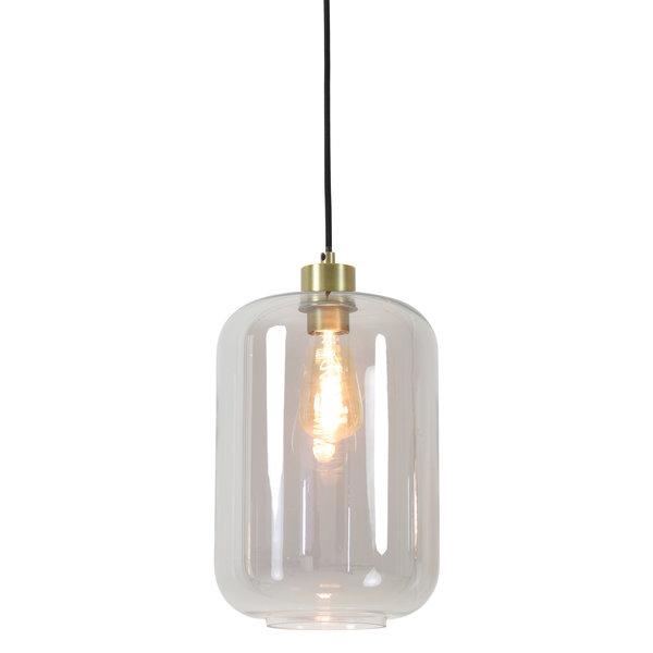 Light & Living Hanglamp Ø22x31,5 cm JESSIE smoke glas