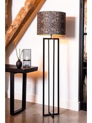 Light & Living Vloerlamp 30x30x140 cm MACE mat  zwart