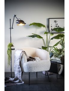 By Boo Fauteuil Babe - Zwart of wit