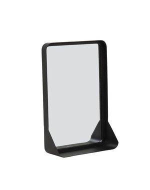 Light & Living Spiegel 30,5x10x44 cm SIPAU S mat zwart