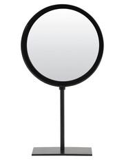 Light & Living Spiegel rond 25x10x45 cm LURI mat zwart