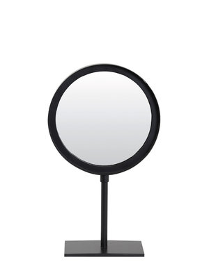 Light & Living Spiegel rond 20x10x35 cm LURI mat zwart