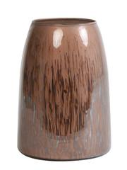 Light & Living Theelicht Ø15x20 cm MONLE paars bruin