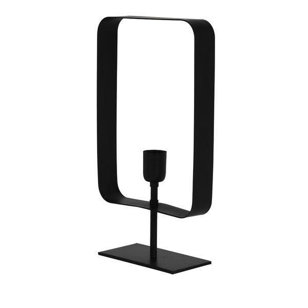 Light & Living Tafellamp 25x10x45 cm YALU mat zwart
