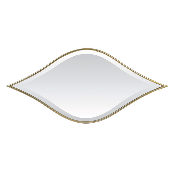 Light & Living Spiegel 89x2,5x41,5 cm MARRAK licht goud