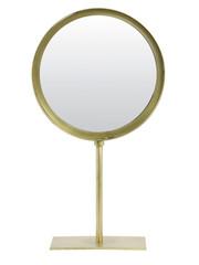 Light & Living Spiegel rond 25x10x45 cm LURI oud brons