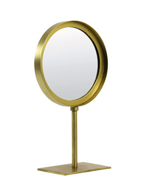 Light & Living Spiegel rond 20x10x35 cm LURI oud brons
