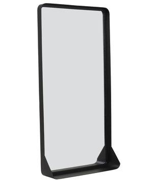 Light & Living Spiegel 40x10x80 cm SIPAU L mat zwart