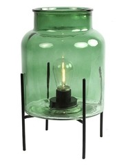 Countryfield Tafellamp LED timer Ella groen