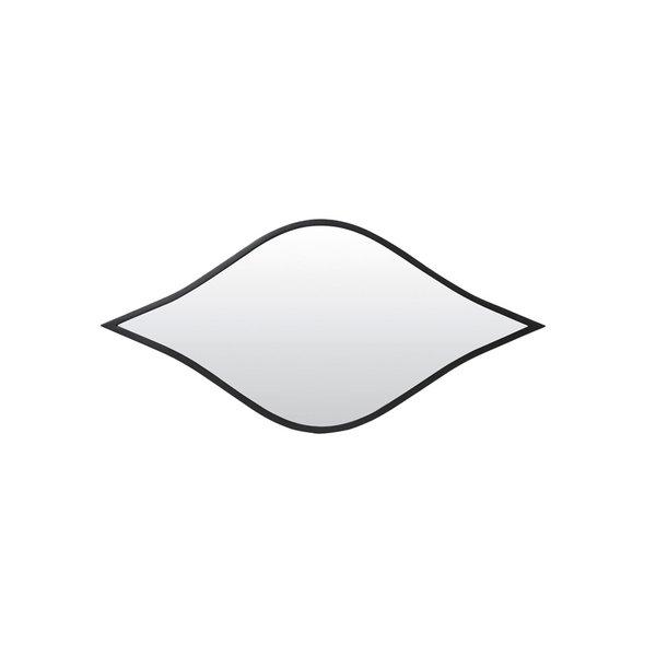Light & Living Spiegel OBIKA mat zwart - Leverbaar in 2 maten