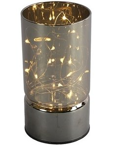 Countryfield Lamp LED timer Gabrike M grijs