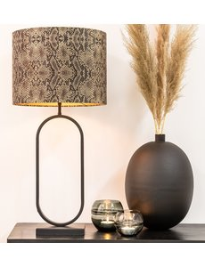 Light & Living Lampvoet 21x13x55 cm JAMIRI mat zwart