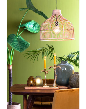 Light & Living Hanglamp Ø48x43 cm POCITA rotan naturel L