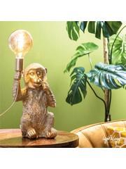 Light & Living Tafellamp aap goud
