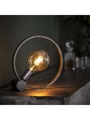 Tafellamp Ø30 circular Oud Zilver