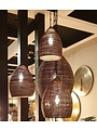 Light & Living Hanglamp NAYLA Brons goud groot