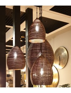 Light & Living Hanglamp NAYLA Brons goud klein