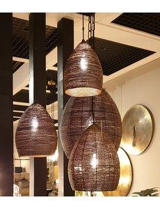 Light & Living Hanglamp NAYLA Brons goud extra groot