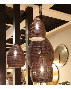 Light & Living Hanglamp NAYLA Brons goud extra groot