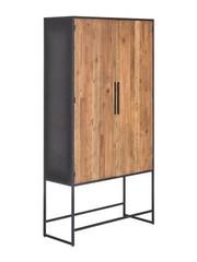 Tower Living Opbergkast Felino Teak 2 deurs