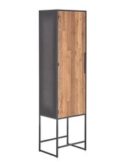 Tower Living Opbergkast Felino Teak 1 deur links of rechts