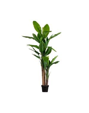 Woood Bananenplant kunstplant groen - diverse afmetingen