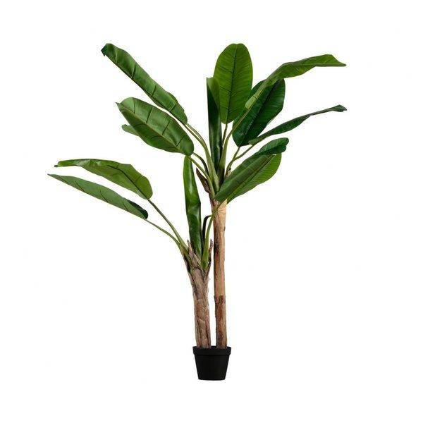 Bananenplant kunstplant groen - diverseafmetingen