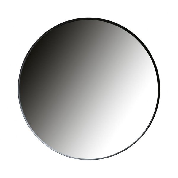 Woood Doutzen spiegel metaal zwart - diverse afmetingen