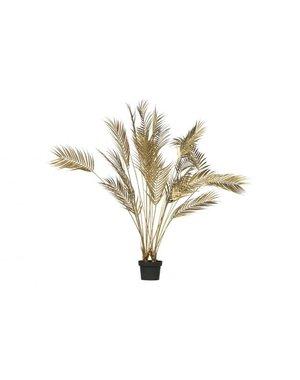 Woood Palm kunstplant 110 cm - Groen of Goud