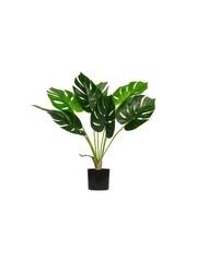 Monstera kunstplant groen 70 cm
