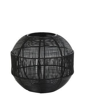 Light & Living Windlicht PILKA mat zwart - 2 maten