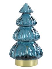 Light & Living Tafellamp LED Ø15x28 cm TREE glas marine blauw